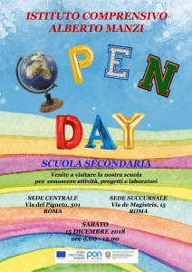 OPEN DAY SECONDARIA